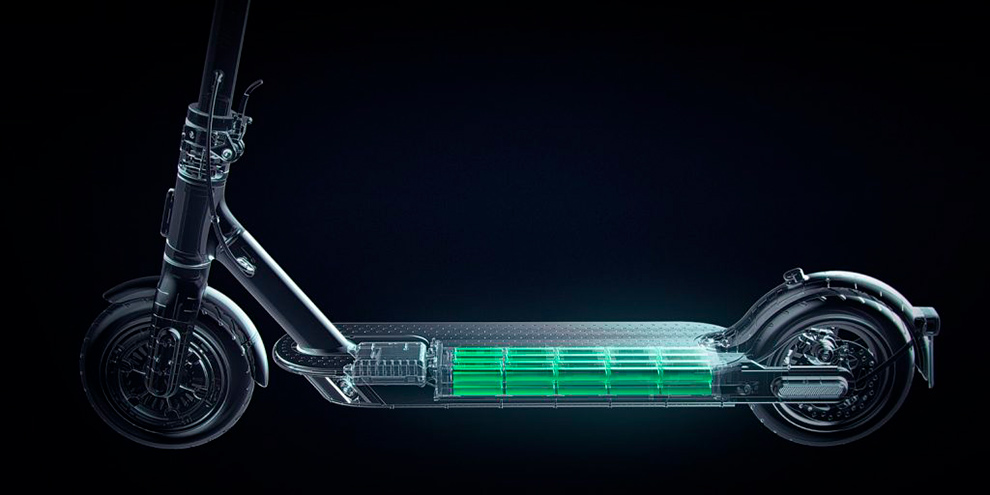 Электросамокат Xiaomi Mi Electric Scooter Pro 2 Mercedes-AMG Petronas F1 Team Edition