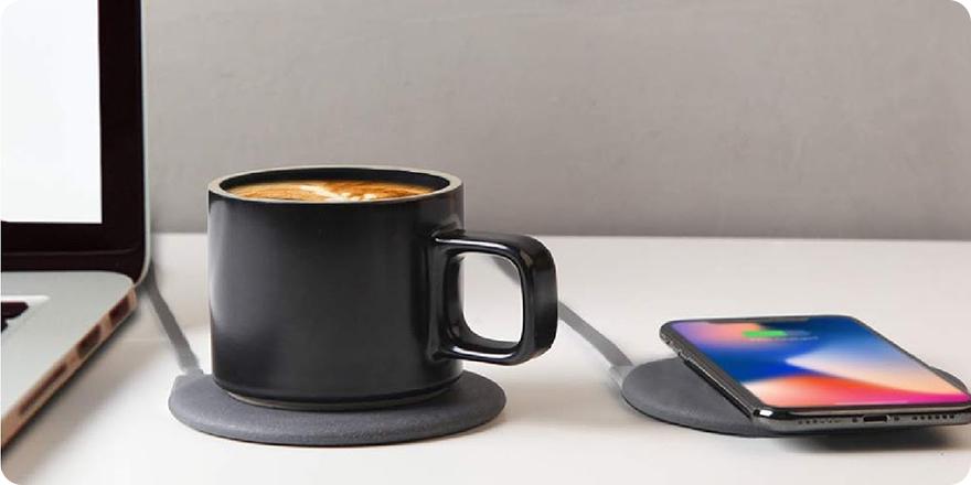 Чашка с подогревом Xiaomi 3
