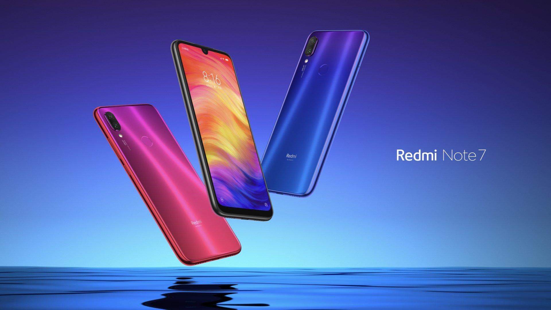 Xiaomi Redmi Note 7 4/64Gb Blue