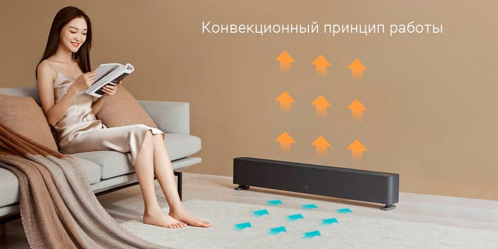 Обогреватель Xiaomi Mijia Baseboard Electric Heater 1S