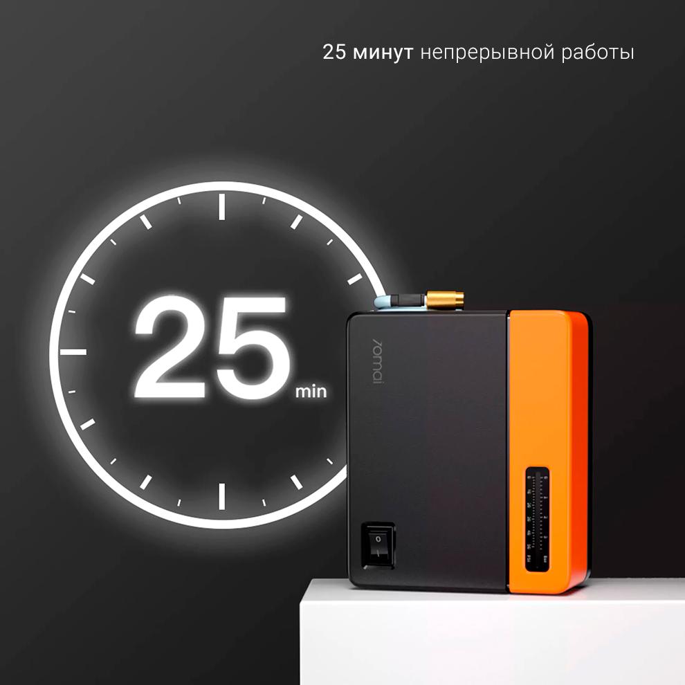 Автомобильный компрессор Xiaomi 70mai Air Pump Eco (Midrive TP04)