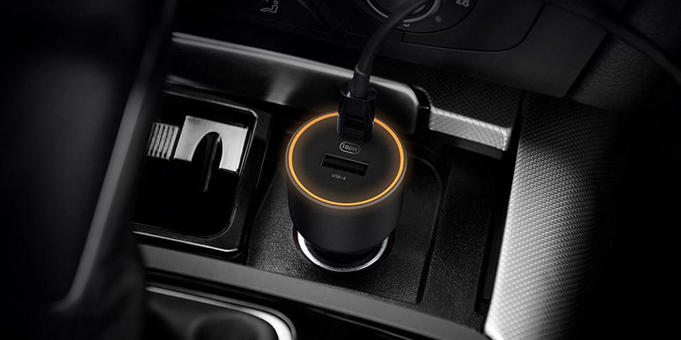 Автомобильное зарядное устройство Xiaomi 100W Car Charger
