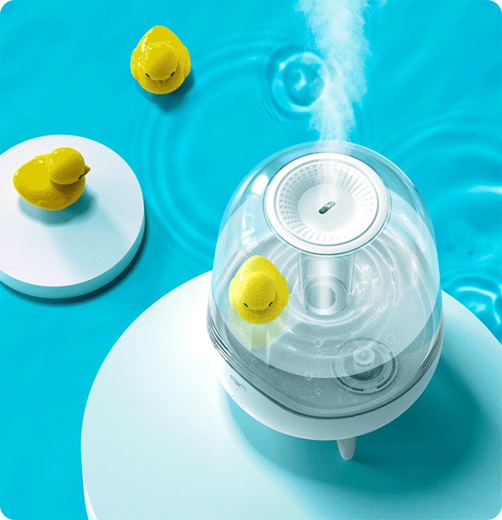 Увлажнитель воздуха Deerma Water Humidifier Transparent DEM-F325