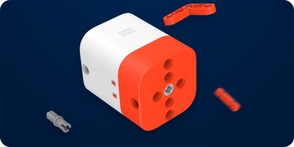 Умный конструктор внедорожник Xiaomi Intelligent Building Blocks Four-wheel Drive YYSQC01IQI