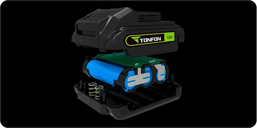 Аккумуляторная дрель-шуруповерт Xiaomi Tonfon Impact Drill