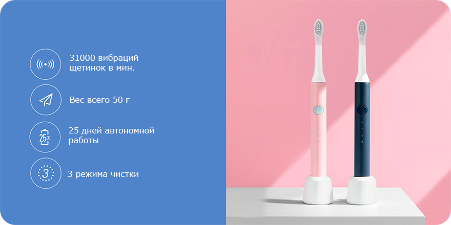Xiaomi Soocas So White Sonic Electric Toothbrush EX3