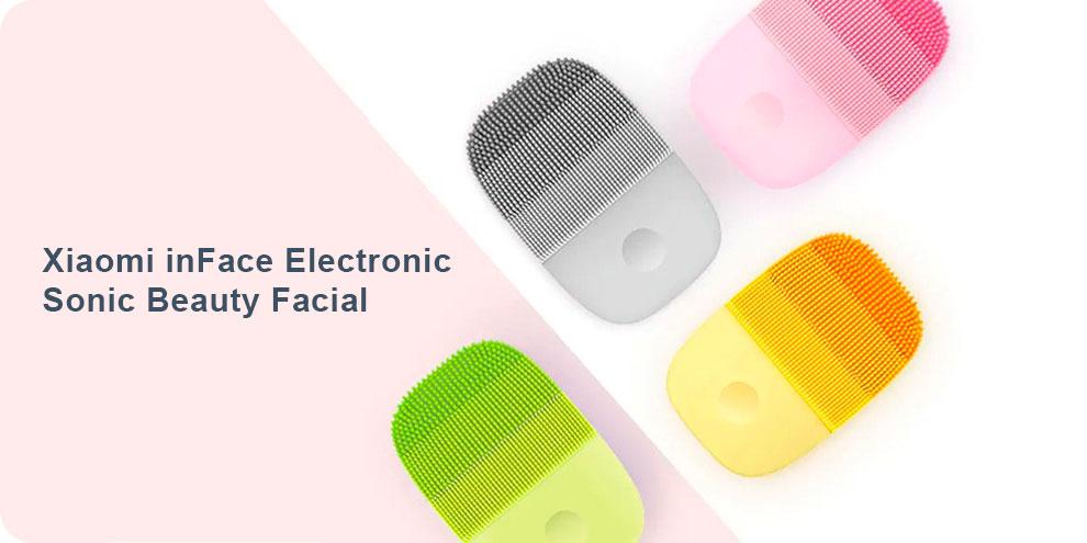 Аппарат для ультразвуковой чистки лица Xiaomi inFace Electronic Sonic Beauty Facial 1