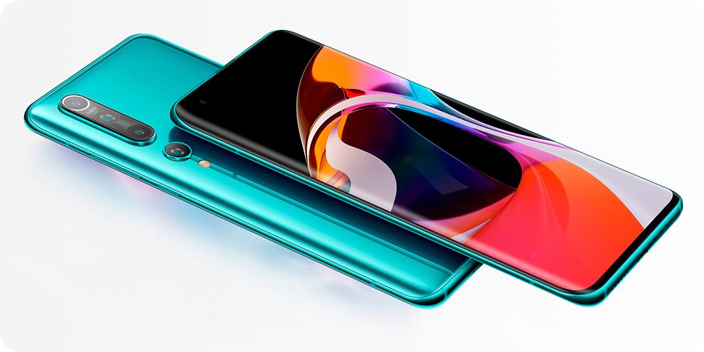 Смартфон Xiaomi Mi 10 Pro 8/256GB Синий(Blue) дизайн