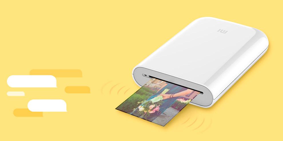 Компактный принтер Xiaomi Mijia Printer