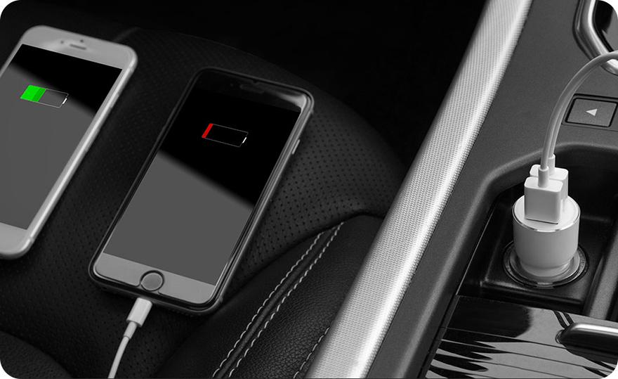 FM-трансмиттер + АЗУ Xiaomi Roidmi Bluetooth