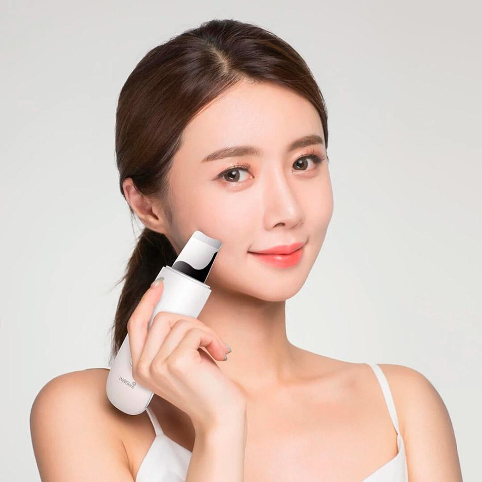Аппарат для чистки лица Xiaomi WellSkins Ultrasonic Skin Scrubber WX-CJ101