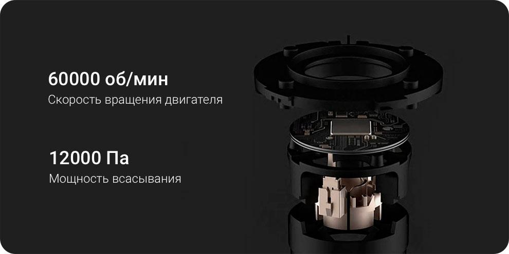 Портативный пылесос Xiaomi Shun Zao Vacuum Cleaner Z1