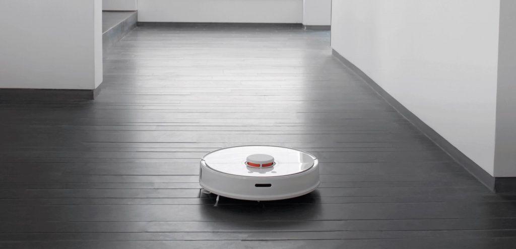 Умный робот-пылесос Xiaomi Roborock Sweep One Blue