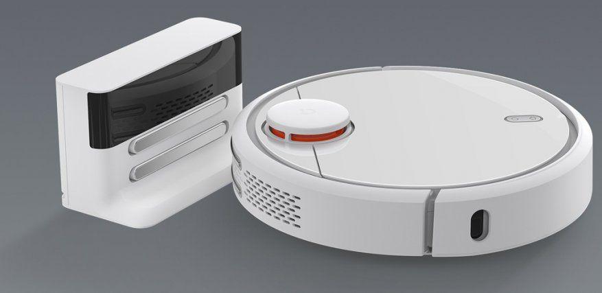 Умный робот-пылесос Xiaomi Mi Robot Vacuum Cleaner