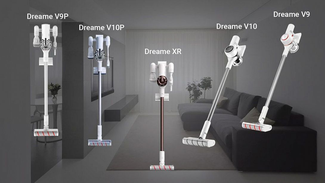 Сравнение ручных пылесосов Xiaomi Dreame: V9, V9P, V10, V10P, XR